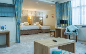 Langstone Cliff Hotel Bedrooms