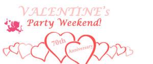 valentines party weekend