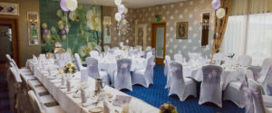 Wedding Reception in the Orchid Room