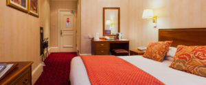double room at the langstone cliff hotel