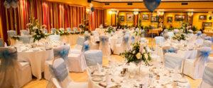 Wedding receptions in the Washington Suite