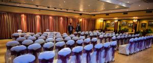 Wedding Ceremony in the Ballroom