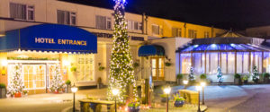 christmas at langstone cliff hotel