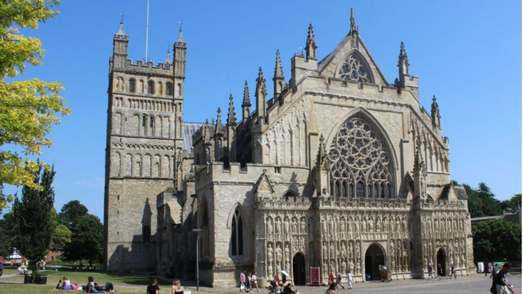 Exeter Cathedral South Devon Autumn (1)-min