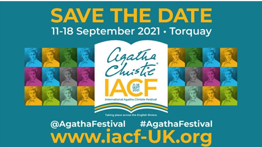 International Agatha Christie Festival 2021 South Devon Autumn-min