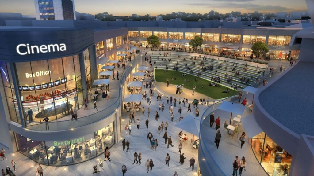 Princesshay Shopping Centre South Devon Autumn (1)-min