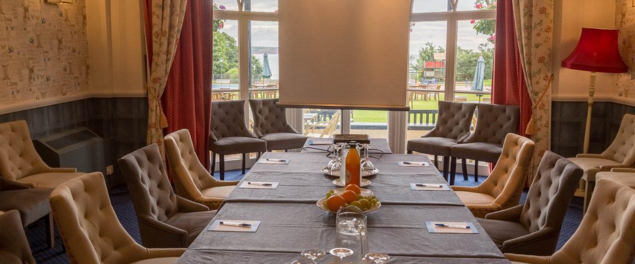 The Verandah Room at Langstone Cliff Hotel