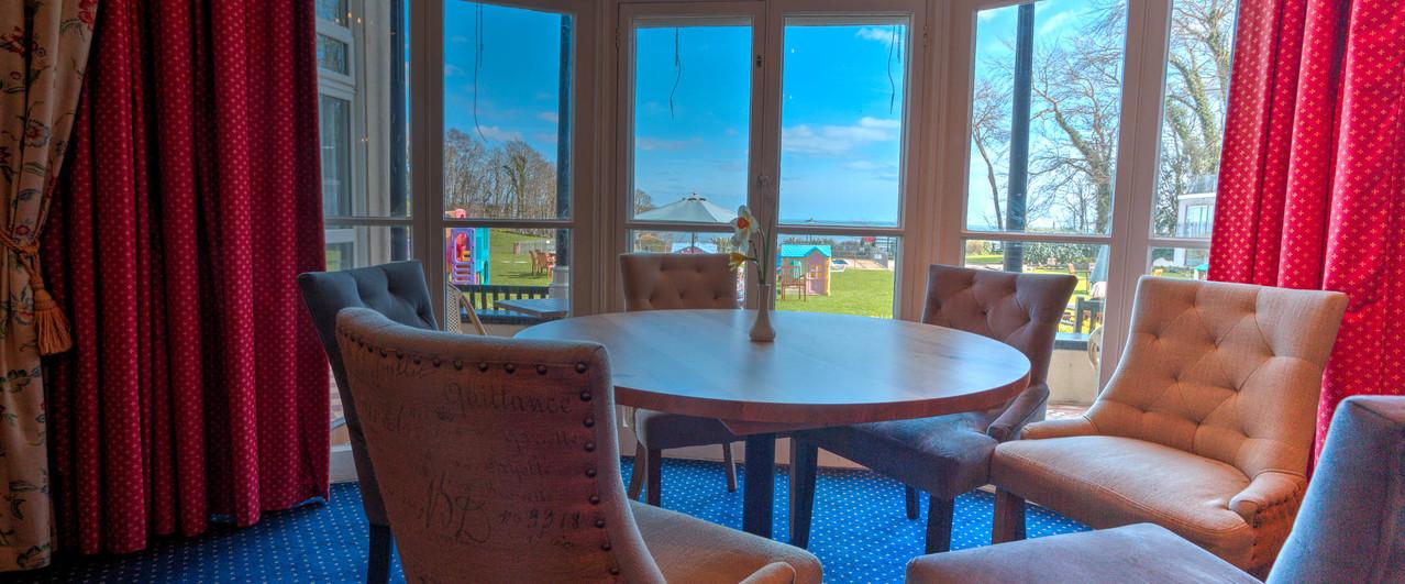 The Verandah Room has spectacular Sea Views