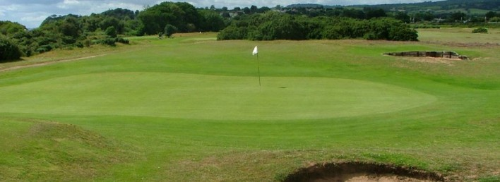 Photo Five Golf Courses Near Langstone Cliff Hotel
