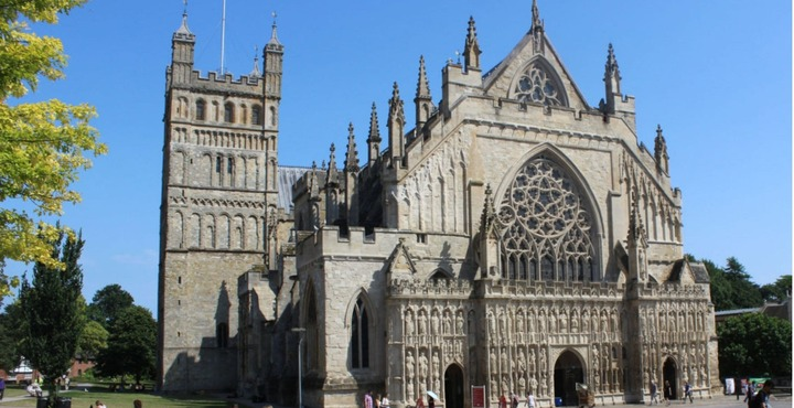 PhotoExeter Cathedral South Devon Autumn (1)-min