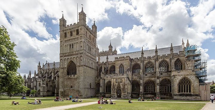 Photo Highlights of Exeter Cathedral
