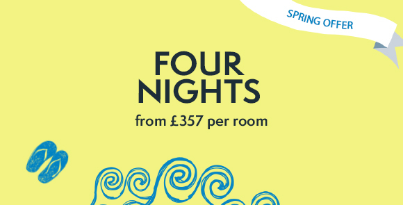 Photo Special 70th Anniversary Offer: Mid-Week Break for Less this Spring
